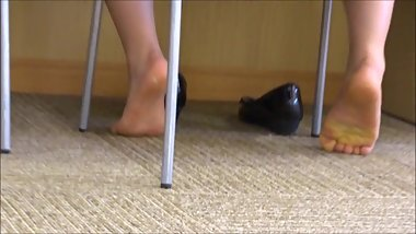 Japanese Foot Fetish Candid 15