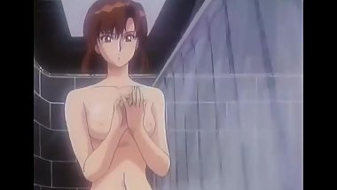 Bubblegum Crisis Nude Shower Scene