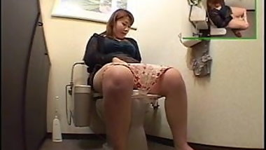 Private Dorm Toilet Masturbation