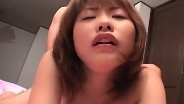 Petite japanese girl sucking cock part5