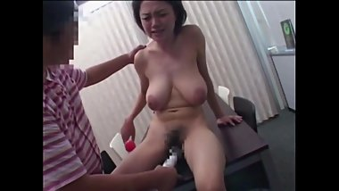 Japanese Lady With Nice Hangers