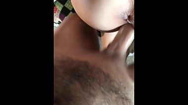 Japanese gf takes white cock