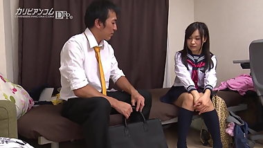 Shizuku Hatano :: Repay From A Roving Girl 1 - CARIBBEANCOM