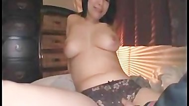 Asian cutie has great tits