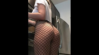 little step sister likes to tease