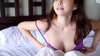 Donetta from DATES25.COM - Sweet morning in bed with sexy japanese woman