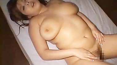 Busty yu sucking some asian dick part3