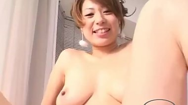 Asian Girl Getting Her Pussy Rubbed With Tits Licked By Busty Girl In The B