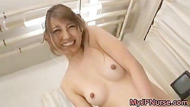 Arisa Ebihara amazing Asian nurse part1