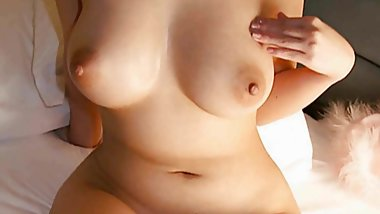 Great Japanese Tits and Pussy Ready for Cock