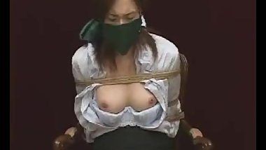 japanese girl gagged