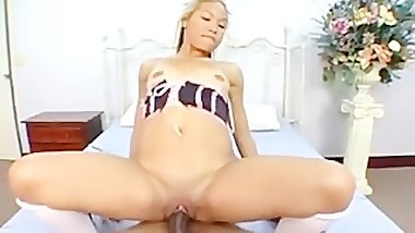 Big boot asian full scene