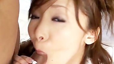Yui Natsuki enjoys two cocks Free part2