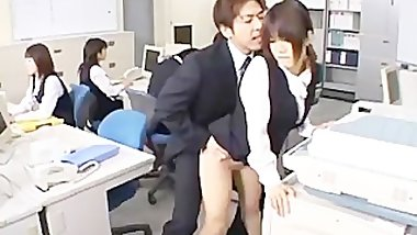 Cute Asian Secretary Fucked part3