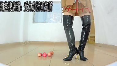 Boots cosplay food crush 3D