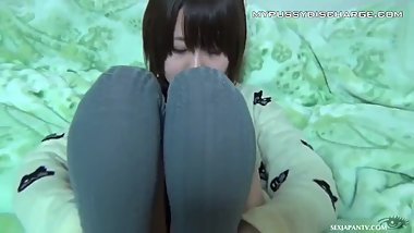 Japanese teens spreading their dirty wet pussies