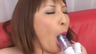 Rika Sonohara gorgeous toy solo on cam