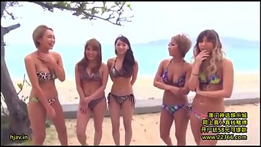 LESBIAN JAPANESE GIRLS PLAY ORGY IN CIRCLE AND GET TO THE CLIMAX PARADISE