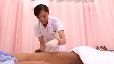 japanese nurse handjob