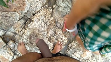 Risky Public Outdoor Sex With Stepsister Near Flowing River a¤¬a¤?a¤? a¤•a?ˆ a¤sa??a¤¦a¤?a¤?