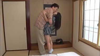 Japanese Father Using Teen