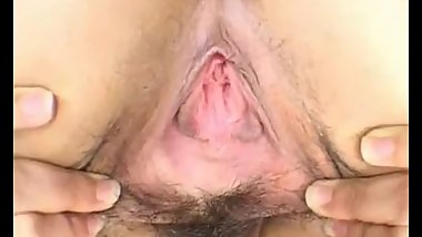 japanese girl's pussy closeup